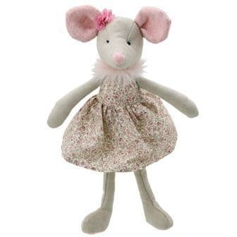 Mouse in Dress Wilberry Toy