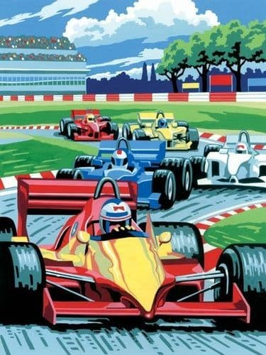 Paint By Numbers -  Grand Prix