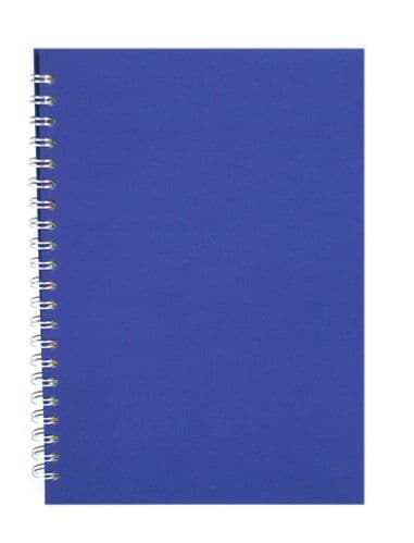 Pink Pig A4 Recycled Brown Cartridge Paper Portrait Sketchbook - Eco Blue