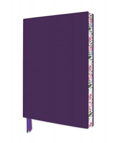 Purple Soft Cover Artisan A5 Notebook