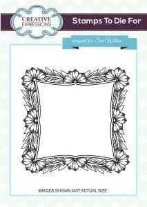 Regal Blossom Outer Frame  Creative Expressions Stamp