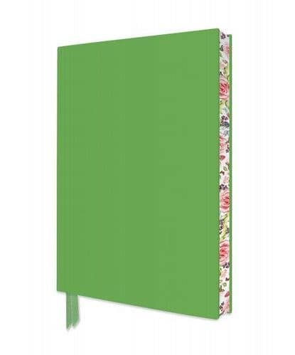 Spring Green Soft Cover Artisan A5 Notebook