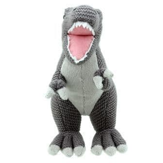 T-Rex Knitted Wilberry Toy