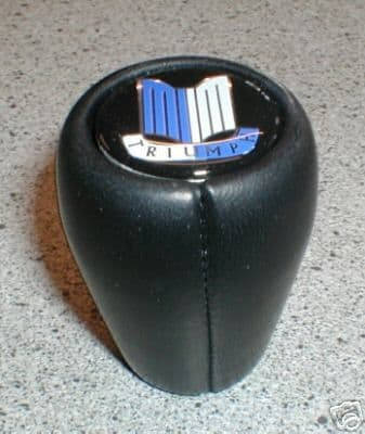 BLACK LEATHER GEAR KNOB SPITFIRE GT6 HERALD VITESSE TR GAC6051X