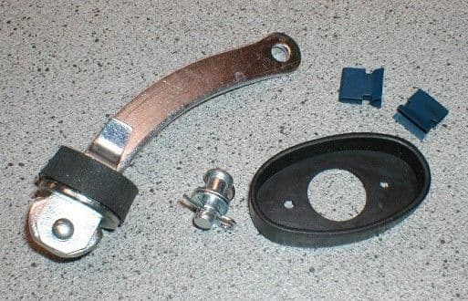 DOOR CHECK STRAP ARM KIT TRIUMPH SPITFIRE & GT6 613024