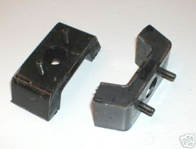 ENGINE MOUNTS -PAIR -MG MIDGET RUBBER BUMPER MODELS CHA565