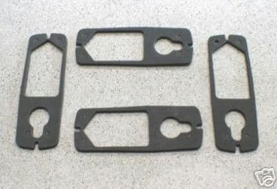 FRONT SIDE/ INDICATOR LAMP GASKETS SET OF 4 SPITFIRE & MGB 57H5575