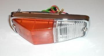 FRONT SIDE/ INDICATOR LAMP UNIT MGB CHROME BUMPER MODELS BHA4966