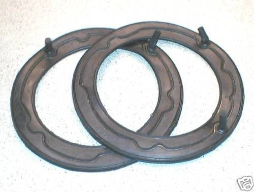 HEADLAMP SEAL PAIR 7 INCH. TRIUMPH , MG, BL. 13H565