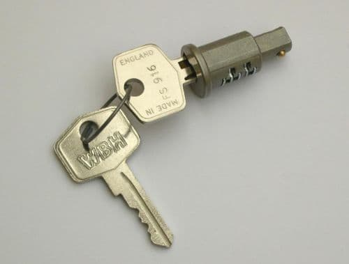 IGNITION BARREL LOCK /KEYS -DASH MOUNTED 24G1435