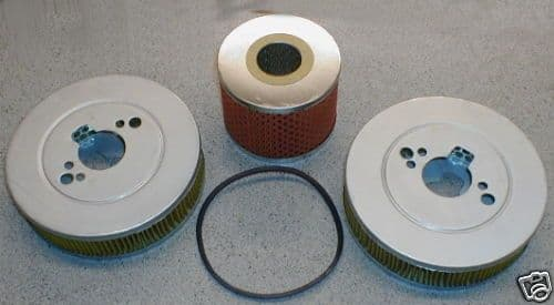 OIL & AIR FILTER KIT TRIUMPH VITESSE MK 1 & MK 2 2000 GFE131