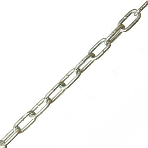 14 x 5 x 2.5mm Steel Zinc Plated Finish Chain