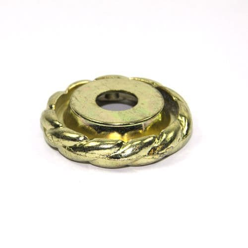 Brass Plated Decorative Lock Nut Cover END OF LINE BARGAIN