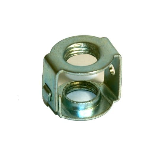 M10 x 1mm Pitch Threaded Zinc Plated Steel Hickey