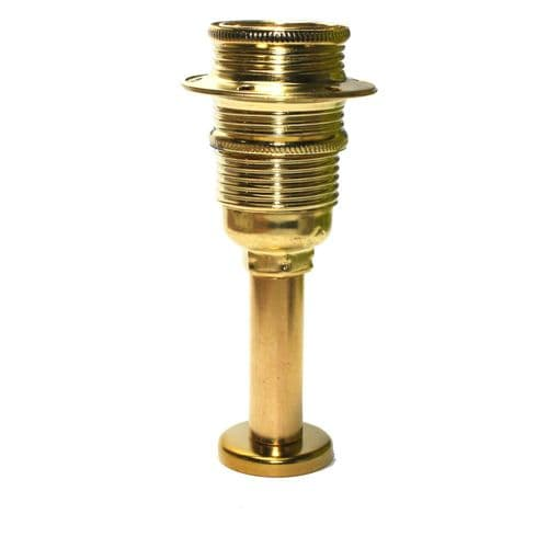 SES E14 Pedestal Mounted Lampholder For DIY Table Lamp Projects