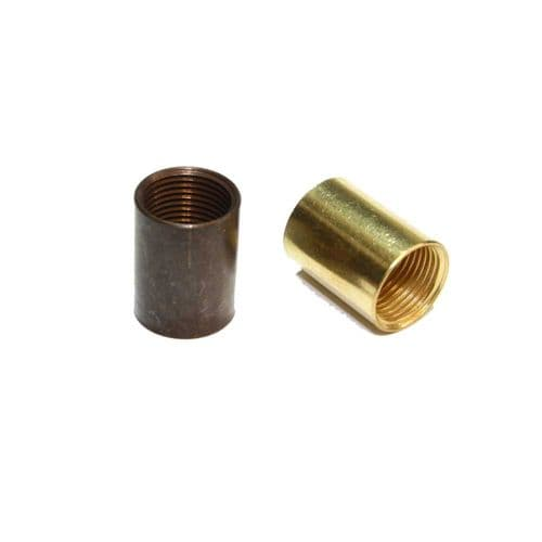 Solid Brass Coupler 1/2