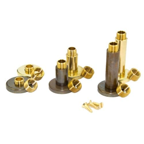 Solid Brass Lampholder Fixing Accessory Kit For Table Lamps