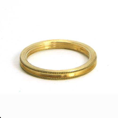 Solid Brass Shade Ring for S.Lilley & Son Bayonet BC Lampholder BC5