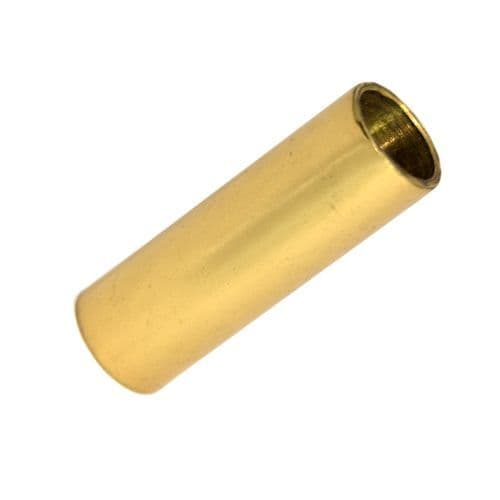 Solid Polished Brass 38mm Long 13mm OD Tube Spacers 10mm ID Pack of 2