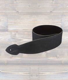 2.5″ Softy Leather Guitar Strap - Made in Liverpool