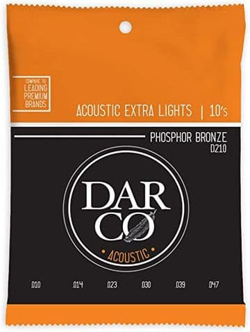 Darco Acoustic 80/20 Bronze Strings - 10-47