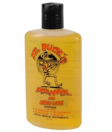 Dr Duck's Ax Wax - Guitar Cleaner & String Lube