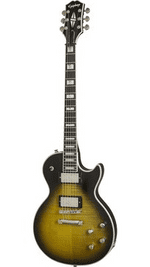 Epiphone Les Paul Prophecy  -Olive Tiger Aged Gloss