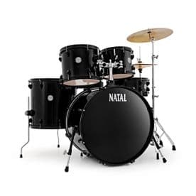 Natal Evo 20 Fusion Complete Drum Outfit - Black