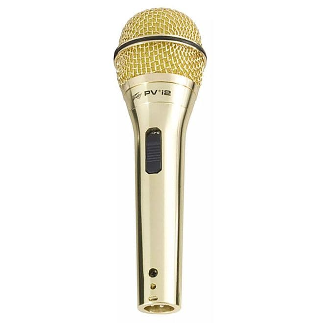 Peavey PVi2 Gold Vocal Microphone XLR