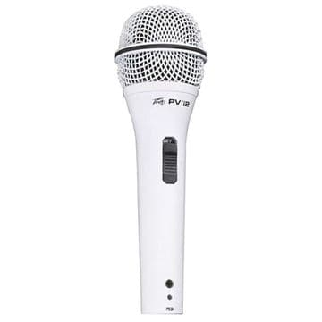 Peavey PVi2 White Vocal Microphone XLR