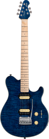 Sterling By MusicMan Axis Flame Maple - Neptune Blue