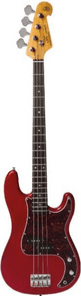SX P Bass - Candy Apple Red