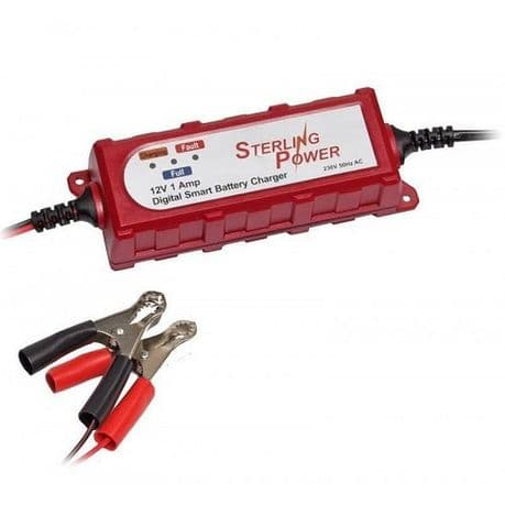 12v / 1A Constant Voltage Battery Maintainer / Charger