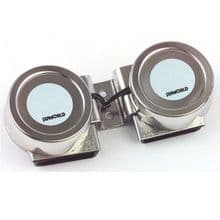 12v Stainless Steel Twin Compact Horn