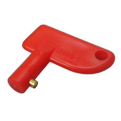 Battery Master Switch Spare Key