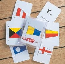 Flip Cards - International Code Flags - 41 Cards