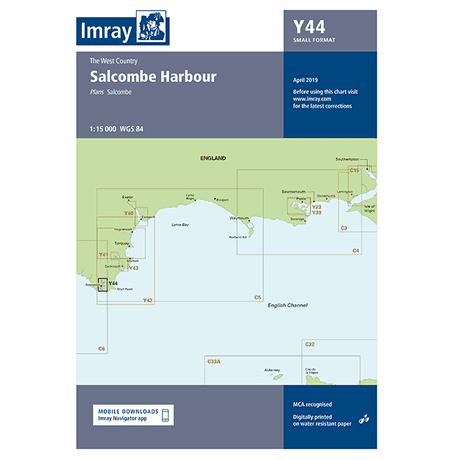 Imray Y44 Salcombe (A2 Small Format)