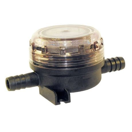 Jabsco Fresh Water Pump Inlet Strainer with Hose Connection - 15mm (1/2