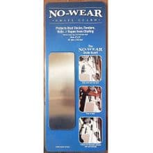 No-Wear Stainless Steel Adhesive Chafe Guard