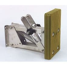 Outboard Motor Bracket Stainless Steel with Marine Plywood Wooded Pad - Up To 10hp