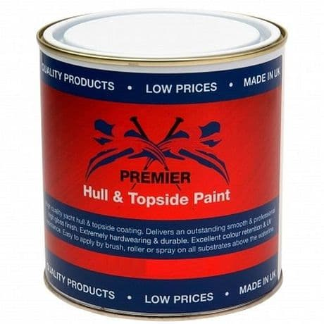 Premier Hull and Topcoat Paint - 1 Litre