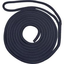 Waveline Pre-Spliced Navy Dockline Rope