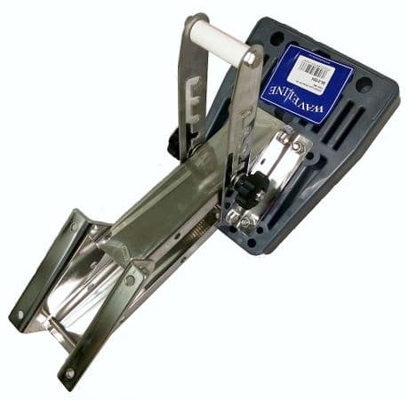 Waveline Stainless Steel Outboard Bracket for up to 30kg Engine