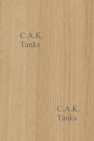 3MM OAK 8X4 SINGLE SIDED FURNITURE WALL BOARD