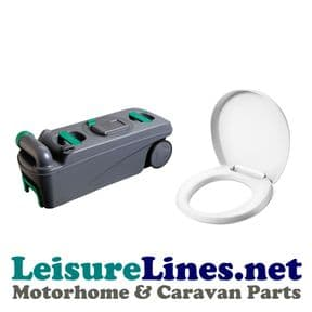 C500 FRESHUP WITH WHEELS CASSETTE BASE TANK + SEAT & COVER