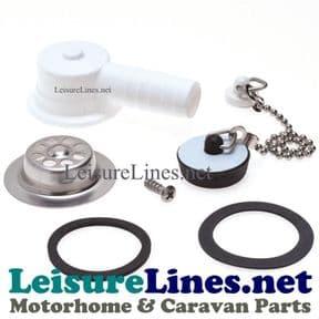 Cramer Dometic Waste Drain plug kit Angled