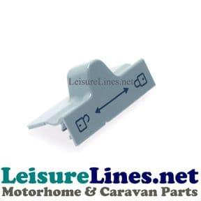 RM7271L - DOOR LOCK SLIDER - GREY