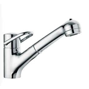 Arwa Class Single Lever Monobloc With Pull-Out Swivel Spout Chrome 9.39655