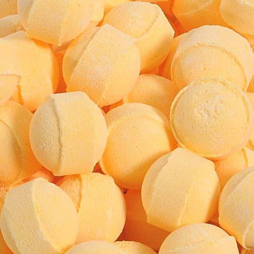 10 Lemon Mini Bath Bombs