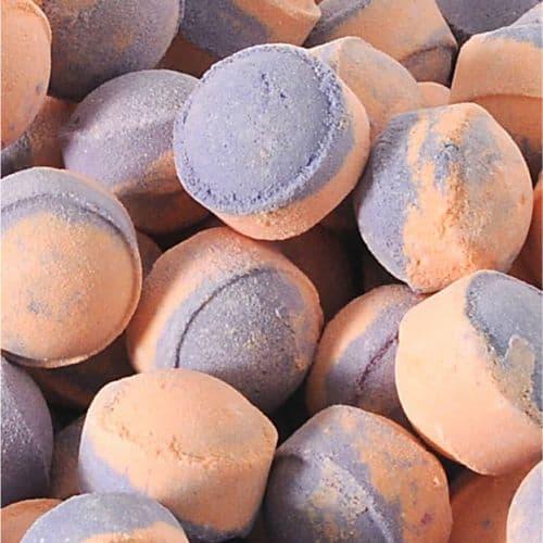 10 Orange & Patchouli Mini Bath Bombs